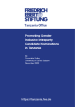 Promoting gender inclusive intraparty candidate nominations in Tanzania